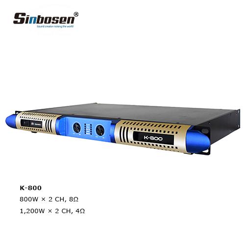 Sinbosen K-800 1U class D 2 channel professional digital
